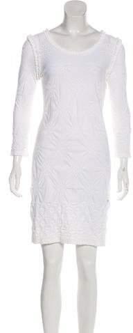Chanel Open Knit Mini Dress