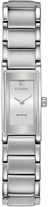 Citizen Women's Axiom Eco-Drive Diamond Bracelet Watch, 28mm x 15mm