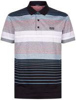 BOSS GREEN Striped Polo Shirt