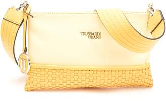 Trussardi Mimosa Faux Leather Clutch