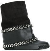 Casadei chain detail boots