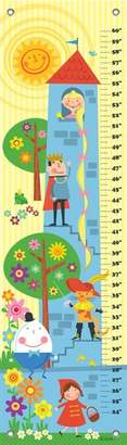 "Oopsy Daisy Fine Art For Kids Growth Chart, Fairytale Stack, 12"" x 42"""