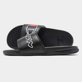 Champion Men's Super Slide Split Script Slide Sandals