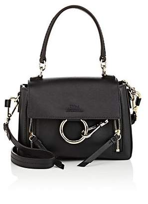 Chloé Women's Faye Day Mini Leather Shoulder Bag - Black