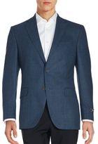 Saks Fifth Avenue Solid Wool Sportcoat