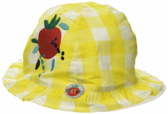 Tuc Tuc Yellow Checked POPLIN HAT for Girl Healthy Life