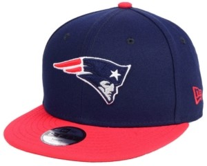 New Era Boys' New England Patriots Two Tone 9FIFTY Snapback Cap
