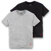 Ralph Lauren Boys' Basic Tee, 2 Pack - Big Kid
