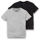 Ralph Lauren Underwear Boys' Basic Tee 2 Pack - Sizes XS-XL