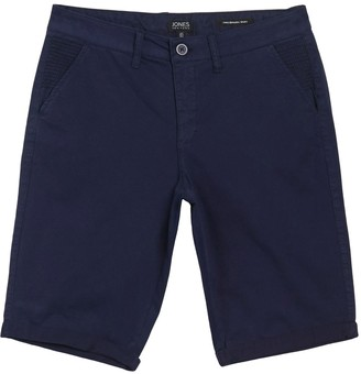 Jones New York Solid Bermuda Chino Shorts