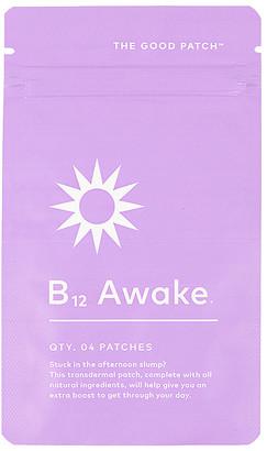The Good Patch B12 Awake 4 Pack