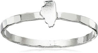 """Kris Nations Silver """"MA"""" State Ring Size 7"""