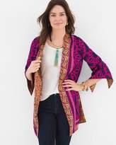 Reversible Printed Kimono