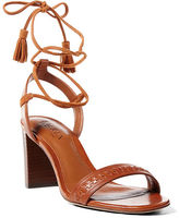 Ralph Lauren Helaine Leather-Suede Sandal