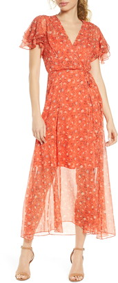 French Connection Esi Floral Georgette Dress