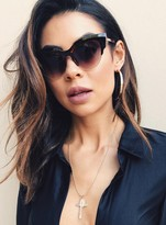MinkPink Tort/Brown Gold Horizon Sunglasses