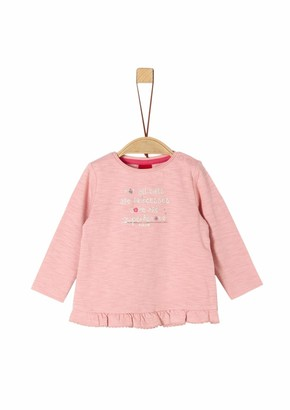 S'Oliver Baby Girls' 65.908.31.8651 Long Sleeve Top