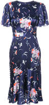 Prabal Gurung flounce floral dress