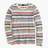 J.Crew Italian cashmere thin-striped sweater