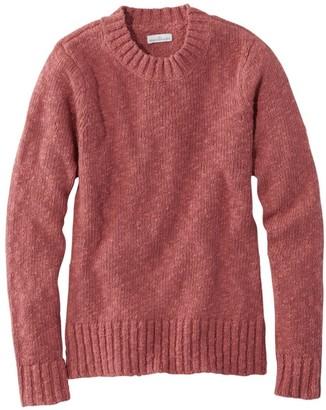 L.L. Bean Women's Signature Cotton Slub Sweater