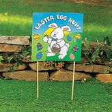 Oriental Trading Company Easter Egg Hunt Yard Sign - Easter & Party Decorations