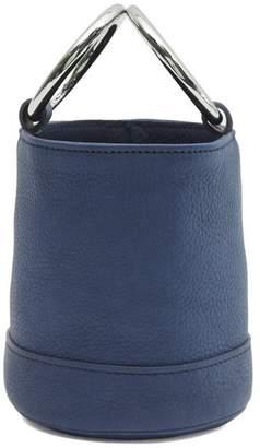 Simon Miller Bonsai 15 Small Leather Link Strap Bucket Bag
