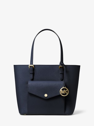 MICHAEL Michael Kors Jet Set Medium Saffiano Leather Pocket Tote Bag