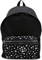 Saint Laurent City backpack - men - Calf Leather/Polyamide - One Size