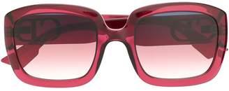 Christian Dior square-frame sunglasses