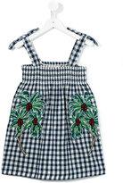 Stella McCartney checked dress - kids - Cotton - 2 yrs
