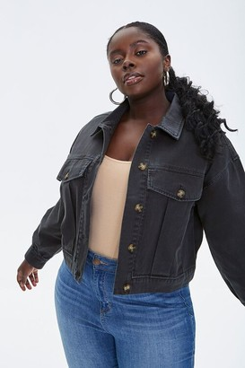 Forever 21 Plus Size Twill Jacket