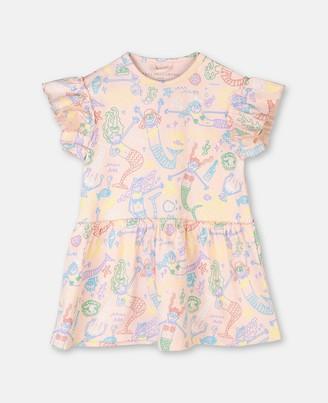 Stella McCartney baby mermaids jersey dress