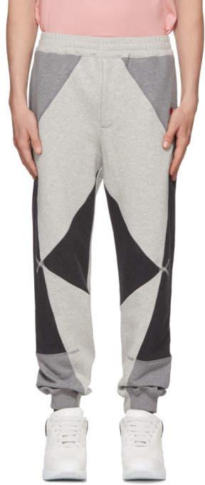 Alexander McQueen Grey Loopback Jogger Lounge Pants