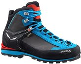Nine West Salewa Women's Crow GTX Black/Hot Coral Summer Mountaineering Boot