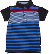 French Connection Stripe Polo (Toddler/Kid) - Classic Navy-4/5 Years