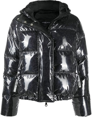 Goose Tech Transparent Padded Jacket