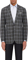 "Giorgio Armani Men's ""Soft"" Plaid Two-Button Sportcoat"