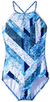 Seafolly Indie Dreamer High Neck Tank Top (Little Kids/Big Kids)