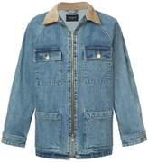 Fear Of God contrast collar denim jacket