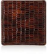 Barneys New York Glazed Leather Coaster