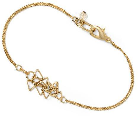 Sol Angeles Hive & Honey Small Triangle Cluster Bracelet