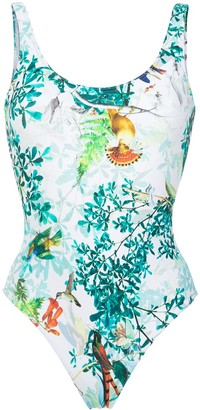 Lygia & Nanny Teresa floral print swimsuit