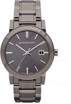 Burberry The City Analog Gunmetal Watch