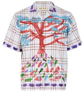 Marni Shirt with a tree print