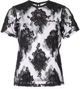 Fleur Du Mal floral lace T-shirt