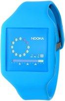 Nooka Unisex Zub Zirc 20 Neon Blue Watch ZUB ZIRC NB 20