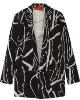 Missoni Oversized Intarsia Wool-Blend Blazer