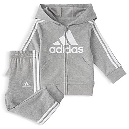 adidas Boys' Hoodie & Jogger Pants Set - Little Kid