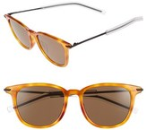 Christian Dior Men's 'Black Tie' 51Mm Polarized Sunglasses - Havana Black/ Bronze