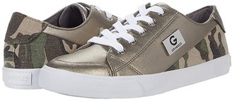 GBG Los Angeles Meric (Pewter/Olive) Women's Shoes